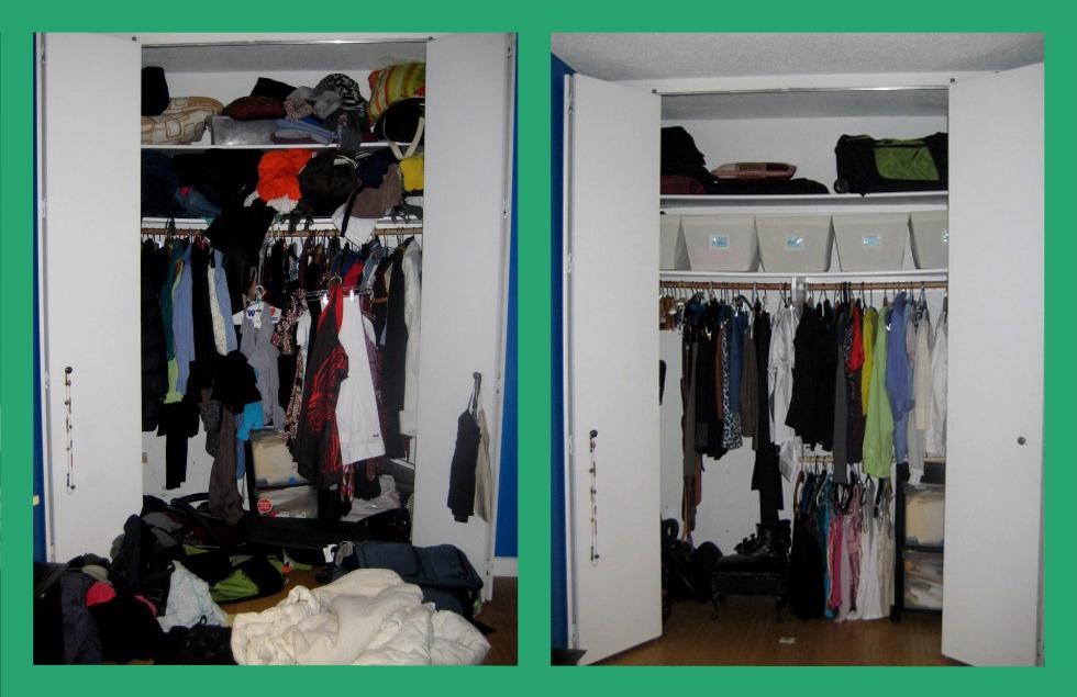 Creative Organization For Small Closets